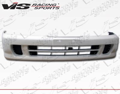 VIS Racing - Acura JDM Integra VIS Racing OEM Style Front Bumper - 94ACITR2DOE-001P