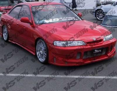 VIS Racing - Acura Integra VIS Racing TSC Front Bumper - 94ACITR2DTSC-001