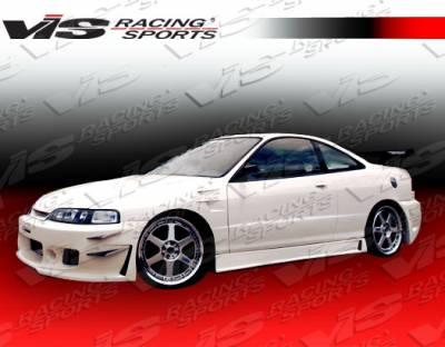 VIS Racing - Acura Integra VIS Racing TSC-3 Front Bumper - 94ACITR2DTSC3-001