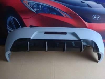 Bayspeed. - Mitsubishi Lancer Bay Speed JDM OEM Carbon Rear Bumper - CF3340JDM