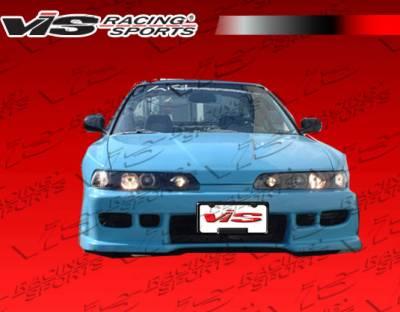 VIS Racing - Acura Integra VIS Racing Z1 boxer Front Bumper - 94ACITR2DZ1-001