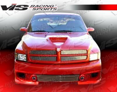 VIS Racing - Dodge Ram VIS Racing Phoenix Front Bumper - 94DGRAM2DPHX-001