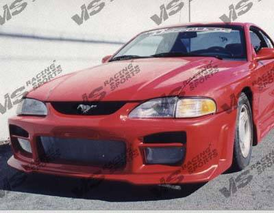 VIS Racing - Ford Mustang VIS Racing Octane Front Bumper - 94FDMUS2DOCT-001