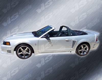 VIS Racing - Ford Mustang VIS Racing Wings Front Bumper - 94FDMUS2DWIN-001