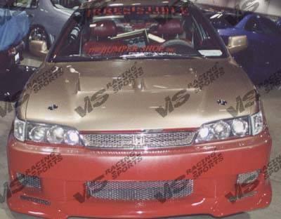 VIS Racing - Honda Accord 2DR VIS Racing Strada F2 Front Bumper - 94HDACC2DSF2-001