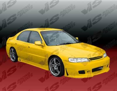 VIS Racing - Honda Accord 2DR & 4DR VIS Racing TSC-3 Front Bumper - 94HDACC2DTSC3-001