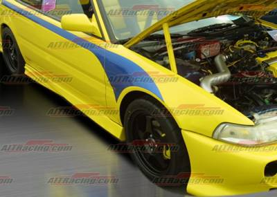 AIT Racing - Acura Integra AIT Racing Extreme Style Side Skirts - AI90HIEXSSS2