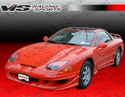 VIS Racing - Mitsubishi 3000GT VIS Racing Xtreme Front Bumper - 94MT3K2DEX-001