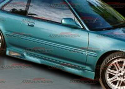 AIT Racing - Acura Integra AIT Racing Revolution Style Side Skirts - AI90HIREVSS2