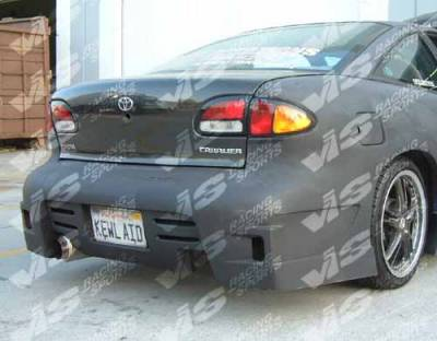 VIS Racing. - Chevrolet Cavalier VIS Racing GT Bomber Front Bumper - 95CHCAV2DGB-001