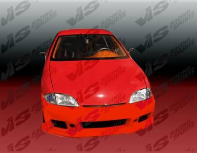 VIS Racing - Chevrolet Cavalier VIS Racing TSC-3 Front Bumper - 95CHCAV2DTSC3-001