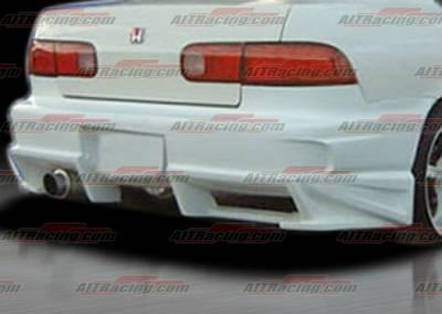 AIT Racing - Acura Integra 4DR AIT Racing BMX Style Rear Bumper - AI94HIBMXRB4