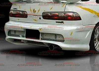 AIT Racing - Acura Integra AIT Racing Combat Style Rear Bumper - AI94HICBIIRB2
