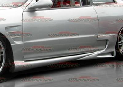 AIT Racing - Acura Integra AIT Racing Combat Style Side Skirts - AI94HICBSSS2