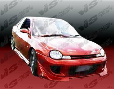VIS Racing - Dodge Neon VIS Racing Battle Z Front Bumper - 95DGNEO2DBZ-001