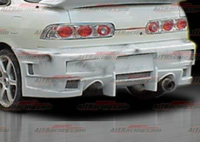 AIT Racing - Acura Integra AIT Racing EVO4 Style Rear Bumper - AI94HIEVO4RB2