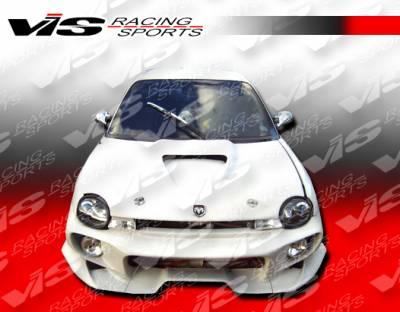 VIS Racing - Dodge Neon VIS Racing Invader Front Bumper - 95DGNEO2DINV-001