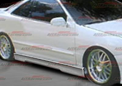 AIT Racing - Acura Integra 4DR AIT Racing EVO4 Style Side Skirts - AI94HIEVO4SS4