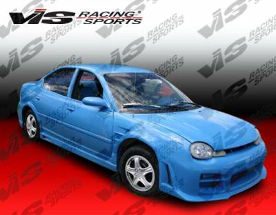 VIS Racing - Dodge Neon VIS Racing Octane Front Bumper - 95DGNEO2DOCT-001