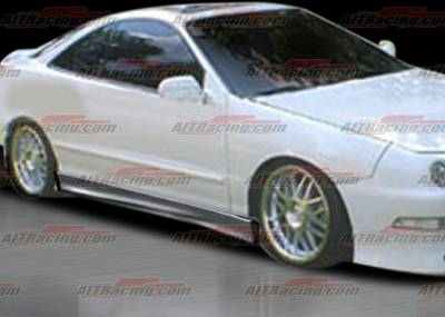 AIT Racing - Acura Integra 4DR AIT Racing M3 Style Side Skirts - AI94HIM3SSS4