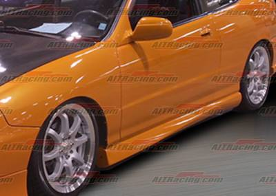AIT Racing - Acura Integra 4DR AIT Racing MGN-2 Style Side Skirts - AI94HIMG2SS
