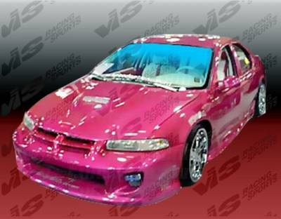 VIS Racing - Dodge Stratus 4DR VIS Racing Kombat Front Bumper - 95DGSTR4DKOM-001