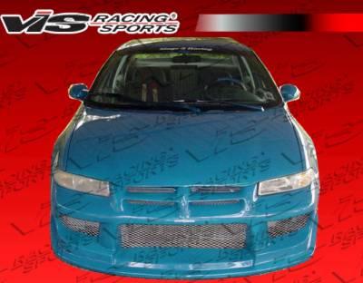 VIS Racing - Dodge Stratus 4DR VIS Racing Striker Front Bumper - 95DGSTR4DSTR-001