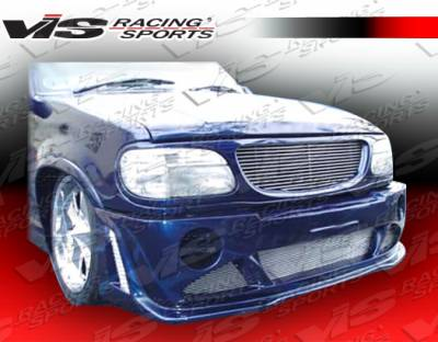 VIS Racing - Ford Explorer VIS Racing Outcast Front Bumper - 95FDEPR4DOC-001