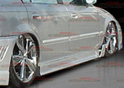 AIT Racing - Acura Integra 4DR AIT Racing MGN Style Side Skirts - AI94HIMGNSS4