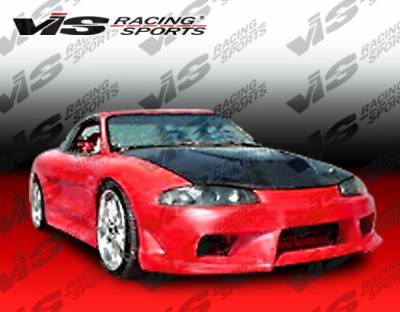 VIS Racing - Mitsubishi Eclipse VIS Racing AT Wide Body Front Bumper - 95MTECL2DATWB-001
