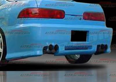 AIT Racing - Acura Integra 4DR AIT Racing Revolution Style Rear Bumper - AI94HIREVRB4