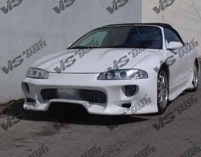VIS Racing - Mitsubishi Eclipse VIS Racing Invader Front Bumper - 95MTECL2DINV-001