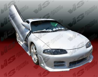 VIS Racing - Mitsubishi Eclipse VIS Racing Octane Front Bumper - 95MTECL2DOCT-001