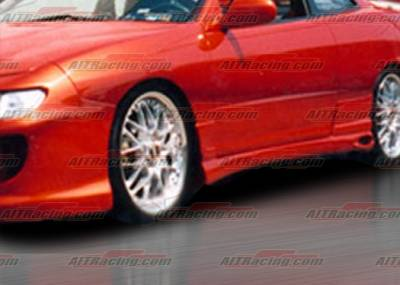 AIT Racing - Acura Integra AIT Racing TF Style Side Skirts - AI94HITFSSS2