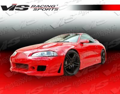 VIS Racing - Mitsubishi Eclipse VIS Racing TSC-3 Front Bumper - 95MTECL2DTSC3-001