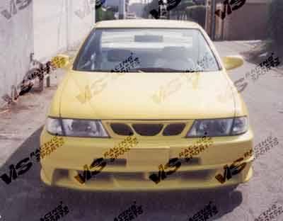 VIS Racing - Nissan 200SX VIS Racing Xtreme Front Bumper - 95NS2002DEX-001