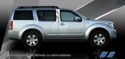SES Trim - Nissan Pathfinder SES Trim Pillar Post - 304 Mirror Shine Stainless Steel - 4PC - P222
