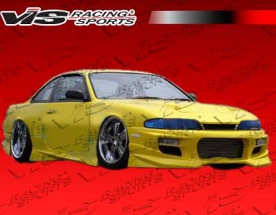 VIS Racing - Nissan 240SX VIS Racing V Spec S Front Bumper - 95NS2402DVSCS-001