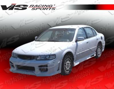 VIS Racing - Nissan Maxima VIS Racing Octane Front Bumper - 95NSMAX4DOCT-001