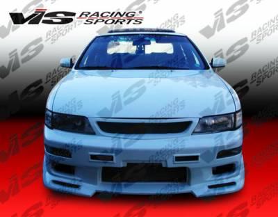 VIS Racing - Nissan Maxima VIS Racing Omega Front Bumper - 95NSMAX4DOMA-001