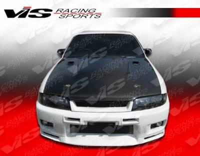 VIS Racing - Nissan Skyline VIS Racing Techno R Front Bumper - 95NSR33GTRTNR-001