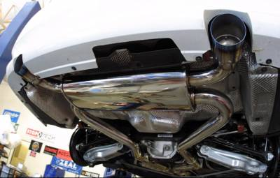 Agency Power - BMW 3 Series Agency Power Exhaust & Mufflers with Dual Polished Tips - AP-335I-170