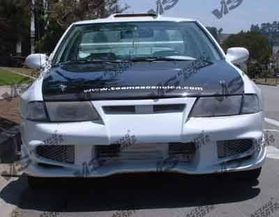 VIS Racing - Nissan Sentra VIS Racing Invader-6 Front Bumper - 95NSSEN4DINV6-001