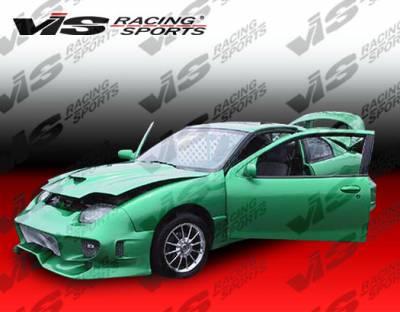 VIS Racing - Pontiac Sunfire VIS Racing Invader Front Bumper - 95PTSUN2DINV-001