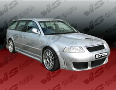 VIS Racing - Audi A4 VIS Racing RS4 Front Bumper - 96AUA44DRS4-001