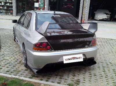 Bay Speed - Mitsubishi Lancer Bay Speed OEM Trunk - CFRP - CFT3340