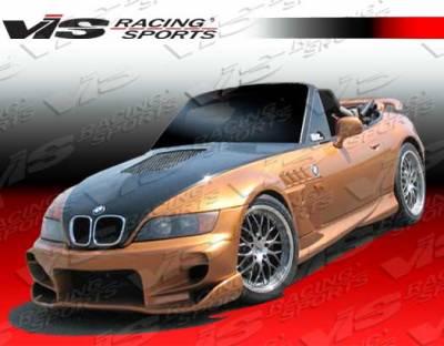 VIS Racing - BMW Z3 VIS Racing Invader Front Bumper - 96BMZ32DINV-001