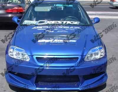 VIS Racing - Honda Civic VIS Racing Battle Front Bumper - 96HDCVC2DBT-001