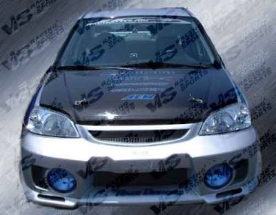 VIS Racing - Honda Civic VIS Racing EVO-5 Front Bumper - 96HDCVC2DEVO5-001