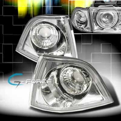 Custom - GEFORCE Euro Corner Lights - Chrome